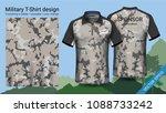military polo t shirt design ...   Shutterstock .eps vector #1088733242