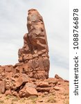The Thumb In Monument Valley....
