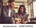 business meeting can be... | Shutterstock . vector #1088769902