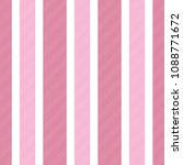 baby girl color pink striped... | Shutterstock .eps vector #1088771672