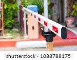 close up barrier gate automatic ... | Shutterstock . vector #1088788175