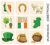 ireland vector illustration...   Shutterstock .eps vector #1088795342