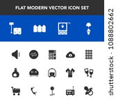 modern  simple vector icon set... | Shutterstock .eps vector #1088802662