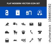 modern  simple vector icon set... | Shutterstock .eps vector #1088803382