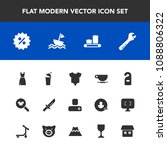 modern  simple vector icon set... | Shutterstock .eps vector #1088806322