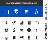 modern  simple vector icon set... | Shutterstock .eps vector #1088817572