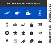 modern  simple vector icon set...   Shutterstock .eps vector #1088819012