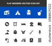 modern  simple vector icon set...   Shutterstock .eps vector #1088819222