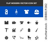 modern  simple vector icon set... | Shutterstock .eps vector #1088819282