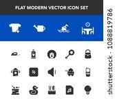 modern  simple vector icon set... | Shutterstock .eps vector #1088819786