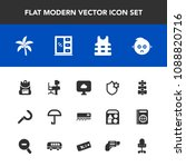 modern  simple vector icon set... | Shutterstock .eps vector #1088820716