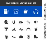 modern  simple vector icon set... | Shutterstock .eps vector #1088821946