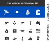modern  simple vector icon set...   Shutterstock .eps vector #1088822216
