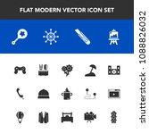 modern  simple vector icon set... | Shutterstock .eps vector #1088826032