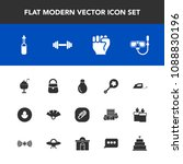 modern  simple vector icon set... | Shutterstock .eps vector #1088830196