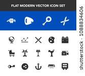 modern  simple vector icon set... | Shutterstock .eps vector #1088834606