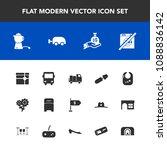 modern  simple vector icon set... | Shutterstock .eps vector #1088836142