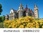 neo gothic towers of the... | Shutterstock . vector #1088862152