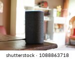 voice controlled speaker and... | Shutterstock . vector #1088863718