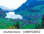 Valley Of Lake Lungern Or...
