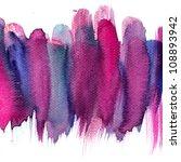 abstract stripe watercolors  ... | Shutterstock . vector #108893942