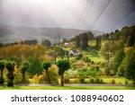 beatiful nature in jesenik ... | Shutterstock . vector #1088940602