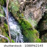 water cascading down | Shutterstock . vector #1088962145