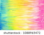 stripy water coloring of a...   Shutterstock . vector #1088965472