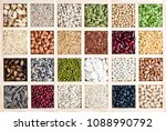 the collection of natural... | Shutterstock . vector #1088990792