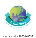 earth day illustration design | Shutterstock .eps vector #1089040532