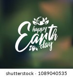 earth day illustration design | Shutterstock .eps vector #1089040535