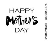 happy mothers day greeting card.... | Shutterstock .eps vector #1089053276