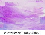 watercolor texture with effect... | Shutterstock . vector #1089088022