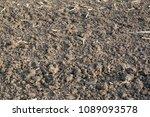 dirt dry farmland | Shutterstock . vector #1089093578