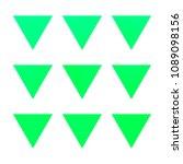 vector gradient reverse... | Shutterstock .eps vector #1089098156