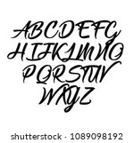 signs of the alphabet.... | Shutterstock .eps vector #1089098192