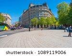 london may 05  2018  street... | Shutterstock . vector #1089119006