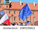 warsaw.polans. 12 may 2018....   Shutterstock . vector #1089150812