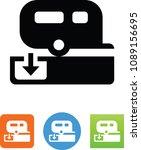 rv dump station icon | Shutterstock .eps vector #1089156695