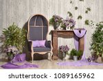 beautiful spring design of the...   Shutterstock . vector #1089165962