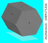 hexagonal shapes are featured... | Shutterstock .eps vector #1089171326