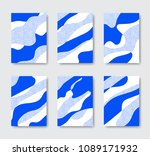 collection of abstract... | Shutterstock .eps vector #1089171932