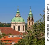 Small photo of St Nicholas, the Most Famous Baroque Church in Prague, Lesser Town