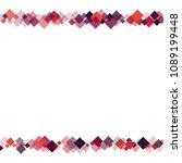 rhombus frame minimal geometric ...   Shutterstock .eps vector #1089199448
