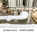 close up of container with... | Shutterstock . vector #1089216806