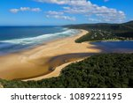 Nature's Valley Beach Seen From ...