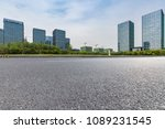 empty road with modern business ... | Shutterstock . vector #1089231545