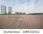 empty road with modern business ... | Shutterstock . vector #1089232412