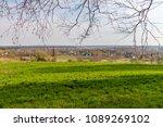 forest spring city | Shutterstock . vector #1089269102