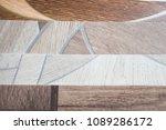 linoleum samples on white... | Shutterstock . vector #1089286172